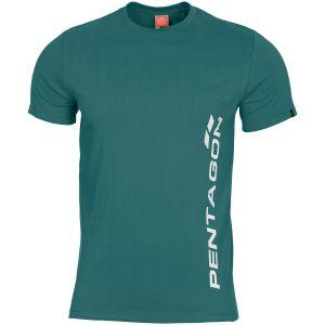 Pentagon Ageron T-Shirt Pentagon Vertical Petrol Blue