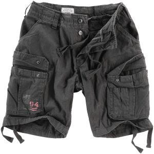 Surplus Airborne Vintage Shorts Washed Black