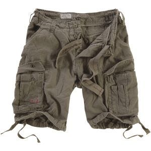 Surplus Airborne Vintage Shorts Washed Olive