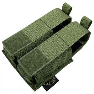 Flyye Double 9mm Pistol Magazine Pouch Ver. HP MOLLE Olive Drab