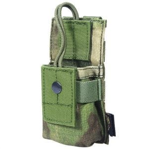 Flyye Short Radio Pouch MOLLE A-TACS FG