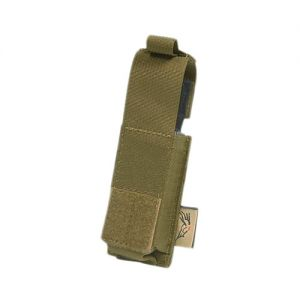 Flyye Single 9mm Pistol Magazine Pouch Ver. HP MOLLE Coyote Brown