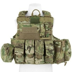 Flyye Force Recon Vest with Pouch Set ver. Mar MultiCam
