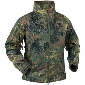 Helikon Gunfighter Soft Shell Jacket Flecktarn