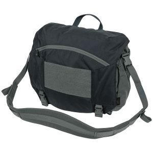 Helikon Urban Courier Bag Large Black / Shadow Grey