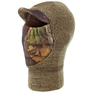 Jack Pyke Double Knit Balaclava English Oak Camo / Brown