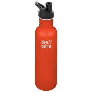 Klean Kanteen Classic 800ml Bottle with Sport Cap 3.0 Sierra Sunset