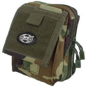 MFH Map Case MOLLE Woodland