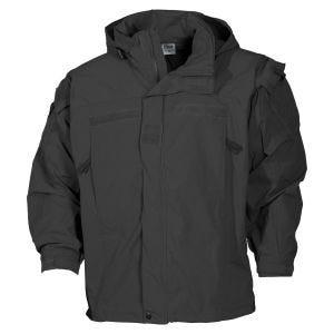 MFH US Soft Shell Jacket Level 5 Black