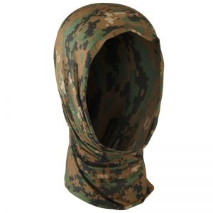 Mil-Tec Multifunction Headgear Digital Woodland