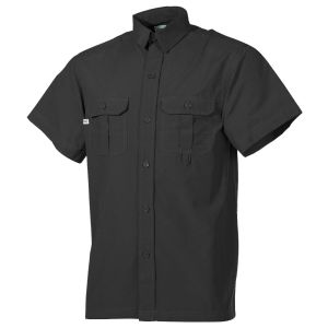 Fox Outdoor Short Sleeve Outdoor Shirt Black