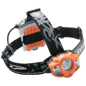 Princeton Tec Apex LED Headlamp Orange Case
