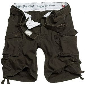 Surplus Division Shorts Brown