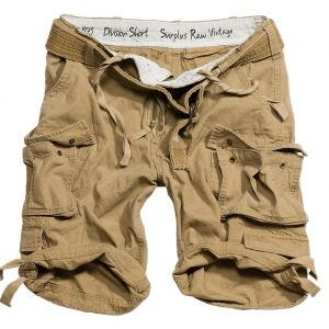 Surplus Division Shorts Coyote