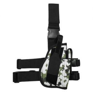 MFH Right Leg Holster Snow Camo