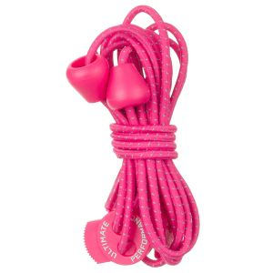 Ultimate Performance Reflective Elastic Laces Hot Pink