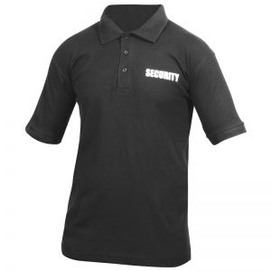 Viper Security Polo Shirt Black