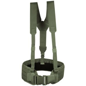 Viper Skeleton Harness Green