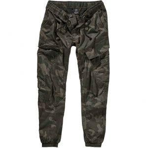 Brandit Ray Vintage Trousers Dark Camo
