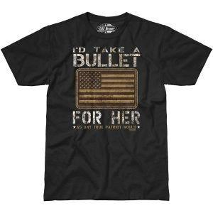 7.62 Design Bullet For Her T-Shirt Black