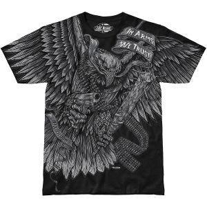 7.62 Design In Arms We Trust T-Shirt Black