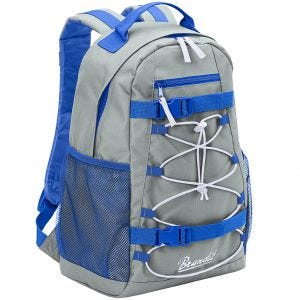 Brandit Urban Cruiser Backpack Grey / Blue / White