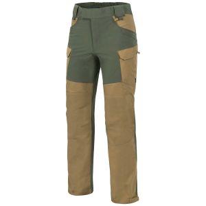 Helikon Hybrid Outback Pants DuraCanvas Coyote / Taiga Green