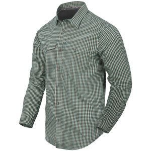 Helikon Covert Concealed Carry Shirt Savage Green Checkered