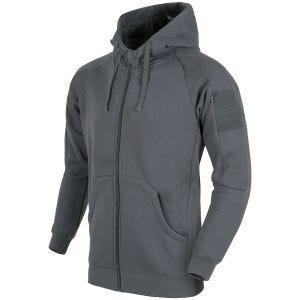 Helikon Urban Tactical Hoodie Lite Full Zip Grey
