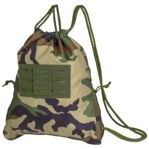 Mil-Tec Sports Bag HexTac Woodland