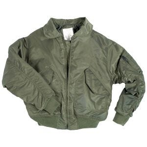 Mil-Tec US CWU Flight Jacket Basic Olive