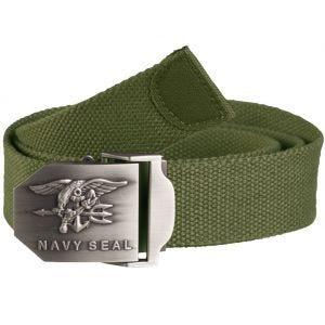 Mil-Tec US Navy Seal Belt 38mm Olive