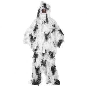 Mil-Tec Ghillie Suit Anti-Fire Basic Snow