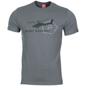 Pentagon Ageron Helicopter T-Shirt Wolf Grey