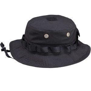 Pentagon Jungle Hat Rip-Stop Black