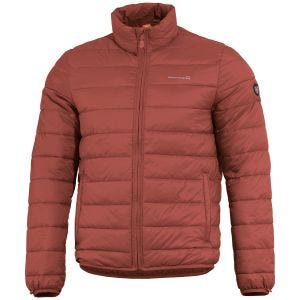 Pentagon Nucleus Liner Jacket Maroon Red