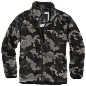 Brandit Teddyfleece Jacket Dark Camo