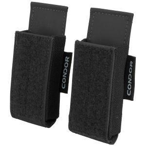 Condor QD M4 Mag Pouch 2 Pack Black