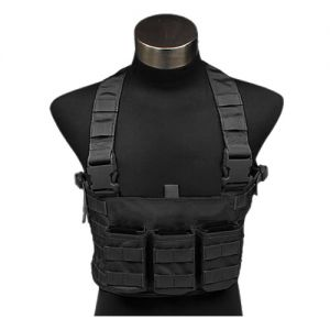 Flyye LAW ENF Chest Rig Black
