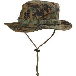 Helikon USMC Boonie Hat Digital Woodland