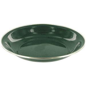 Highlander Deluxe Enamel Soup Plate Green