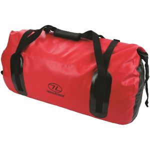 Highlander Mallaig Drybag 35L Duffle Bag Red