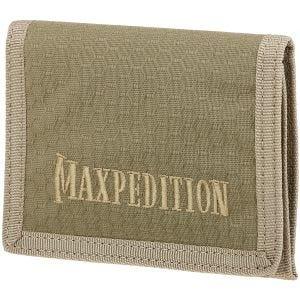 Maxpedition Tri Fold Wallet Tan