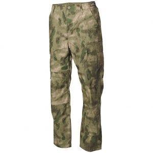 MFH BDU Combat Trousers Ripstop HDT Camo FG