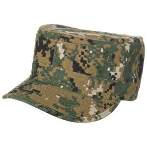 MFH BDU Ripstop Field Cap Digital Woodland