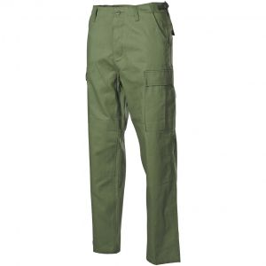 MFH BDU Combat Trousers Ripstop Olive