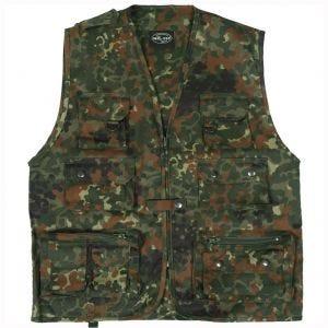 Mil-Tec Fishing Vest Flecktarn