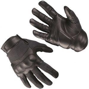 Mil-Tec Tactical Gloves Leather / Kevlar Black