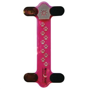 Nite Ize Nite Dawg Red LED Collar Cover Pink