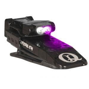 QuiqLite Stealth UV / White LED Flashlight